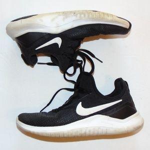 Nike Black & White Free TR8 Running Sneaker Size 6